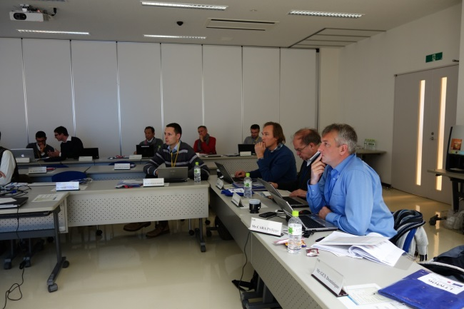 Partial view of attendees to LTM06