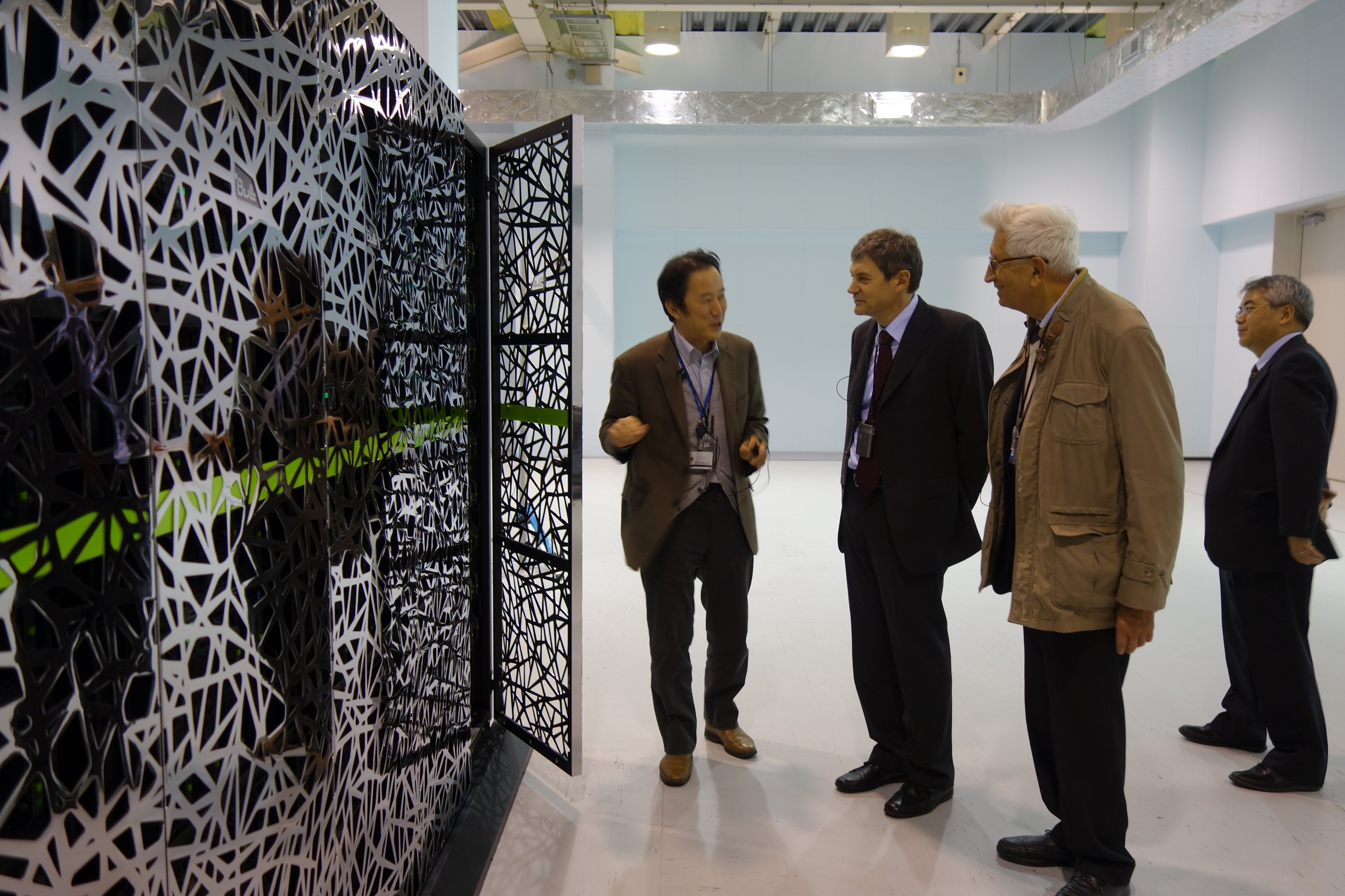 Visit to Computer Center